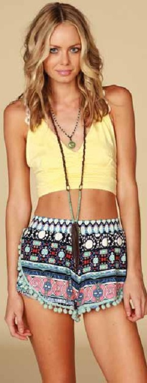 Lucy Love Love Shack Shorts
