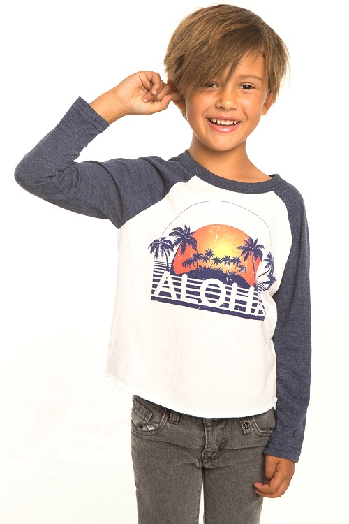 Aloha Kids Long Sleeve Tee