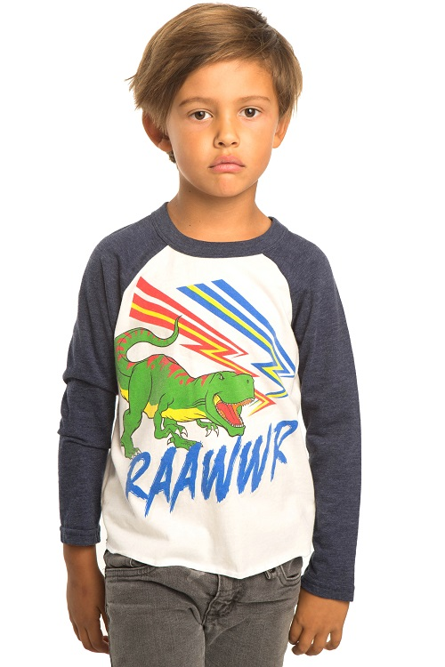 Raawwr Kids Long Sleeve Tee