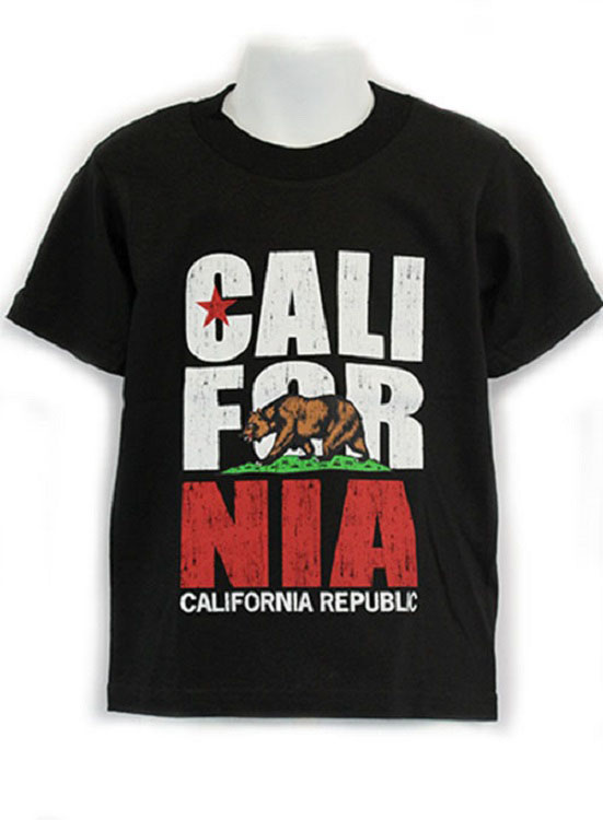 Cali Bear Kids Graphic Tee - More Colors