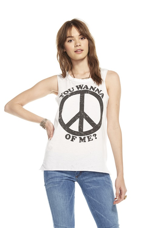 Peace of Me Relaxed Graphic Tee