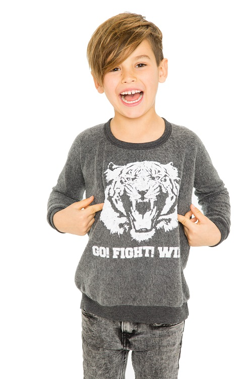 Game On Kids Reverse Fleece Sweatshirt