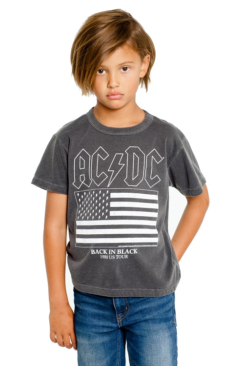 AC/DC Flag Kids Graphic Tee
