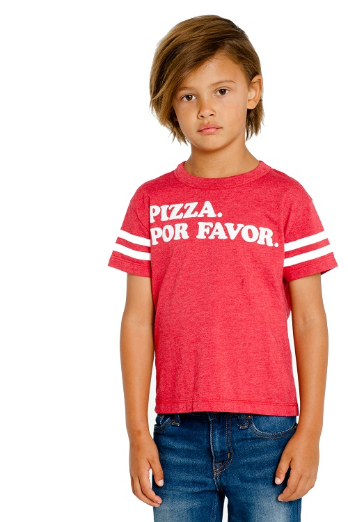 Pizza Please Kids Graphic Tee