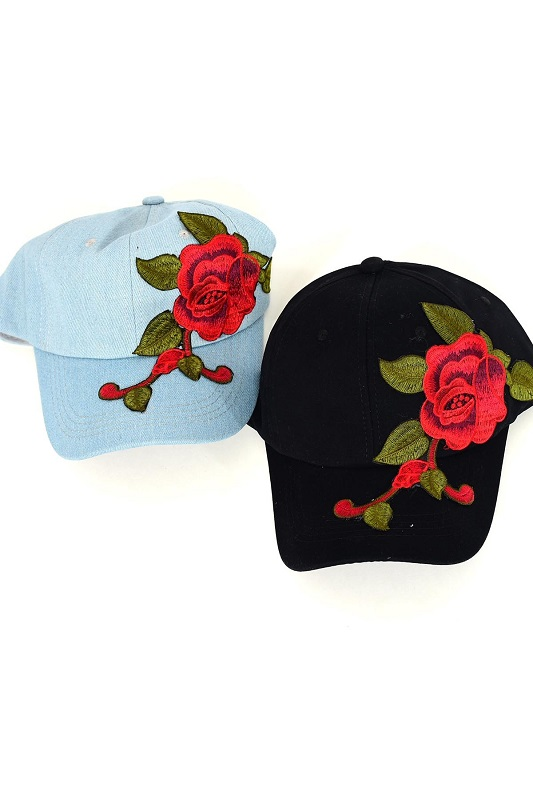 Rock n' Rose Baseball Cap - More Colors