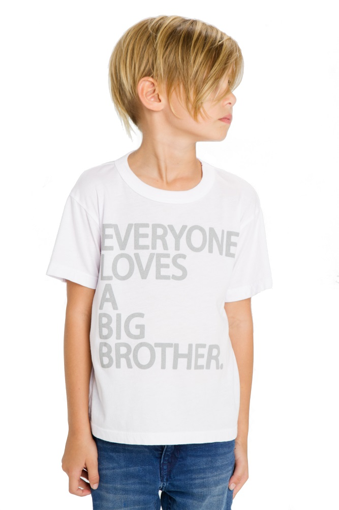 Big Brother Boys Short Sleeve Tee