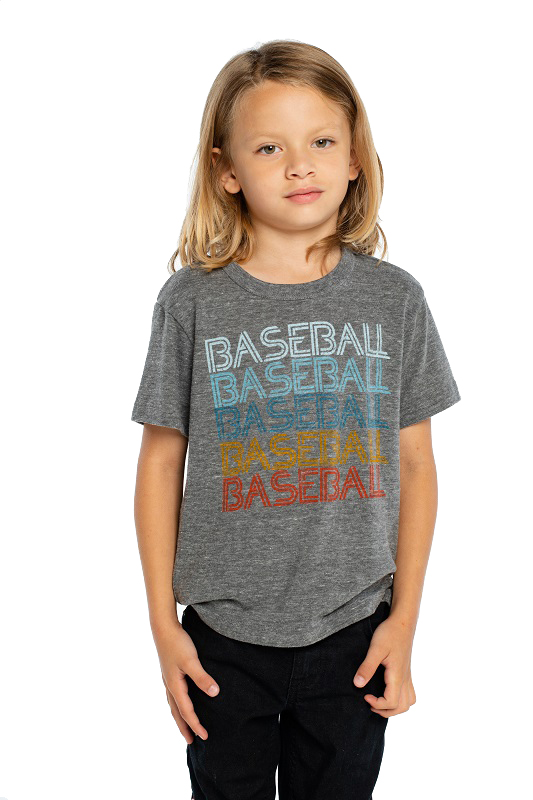 Baseball Baseball Kids Short Sleeve Tee