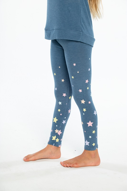 Candy Stars Kids Cozy Leggings
