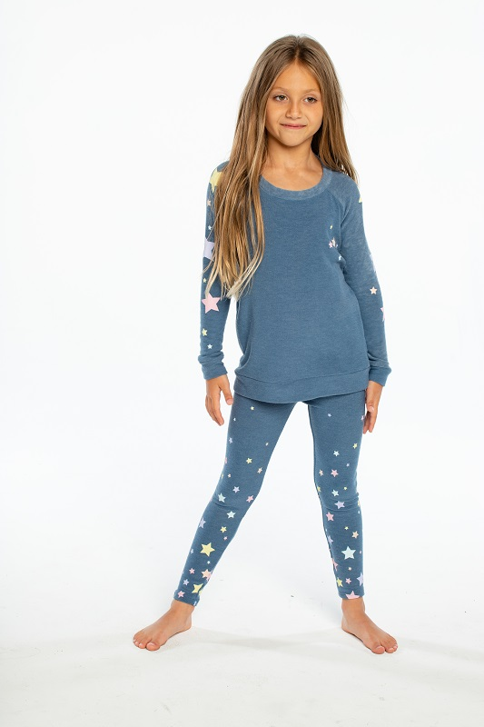 Candy Stars Kids Cozy Pullover - Click Image to Close