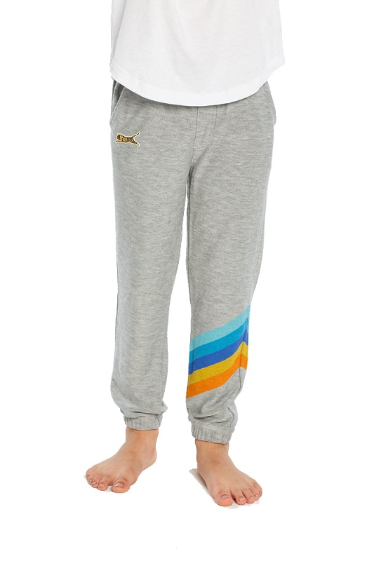 Surf Stripes Kids Cozy Joggers