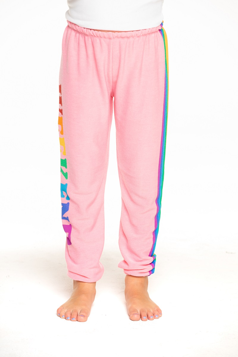 Weekend Rainbow Girls Cozy Knit Lounge Pant