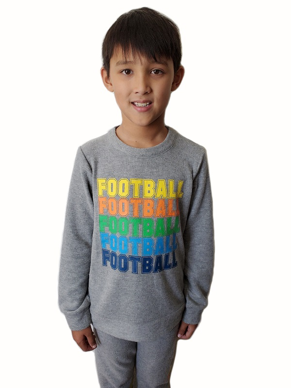 Football Bliss Kids Pullover Sweatshirt